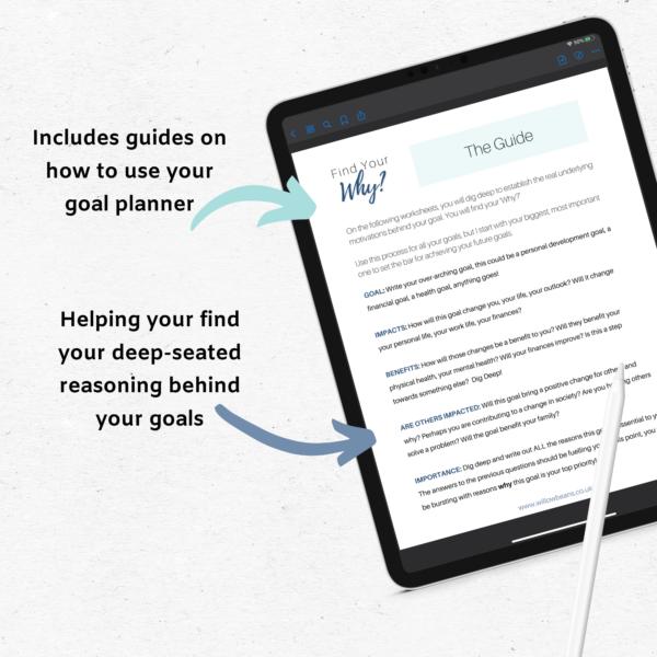 Go Deep Digital Goal Planner