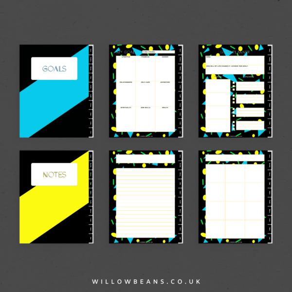 Geometric Life Planner Multiple Screenshots